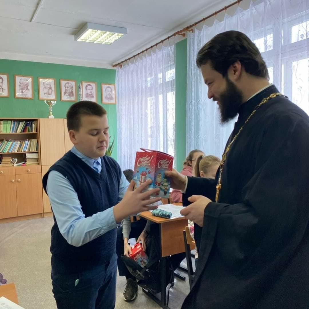 Поздравления с праздником Рождества Христова в посёлке Лидино